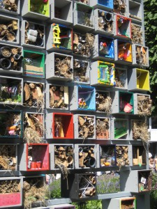 Bug hotel at Chelsea Show 2011