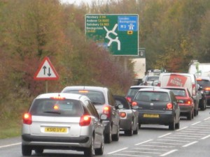 I have been promised by HCC and HA traffic engineers that these works will reduce frustrating queues at the Spitfire link